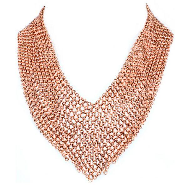 collier cuivre perle de jade