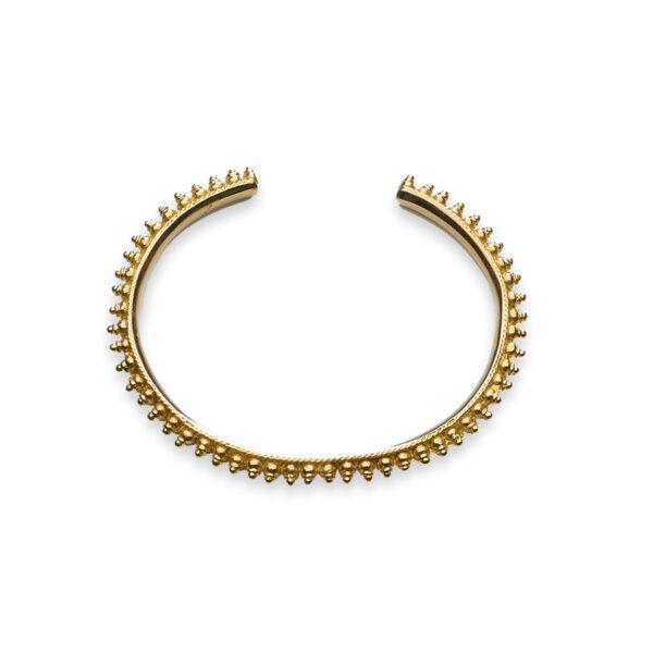Bracelet Spike en vermeil 18 carats