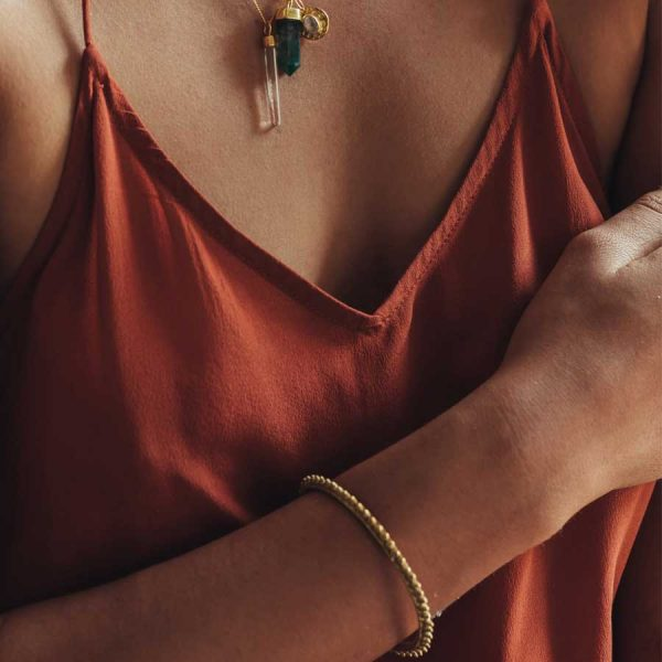 bracelet spike vermeil argent massif plaque or 18 carats