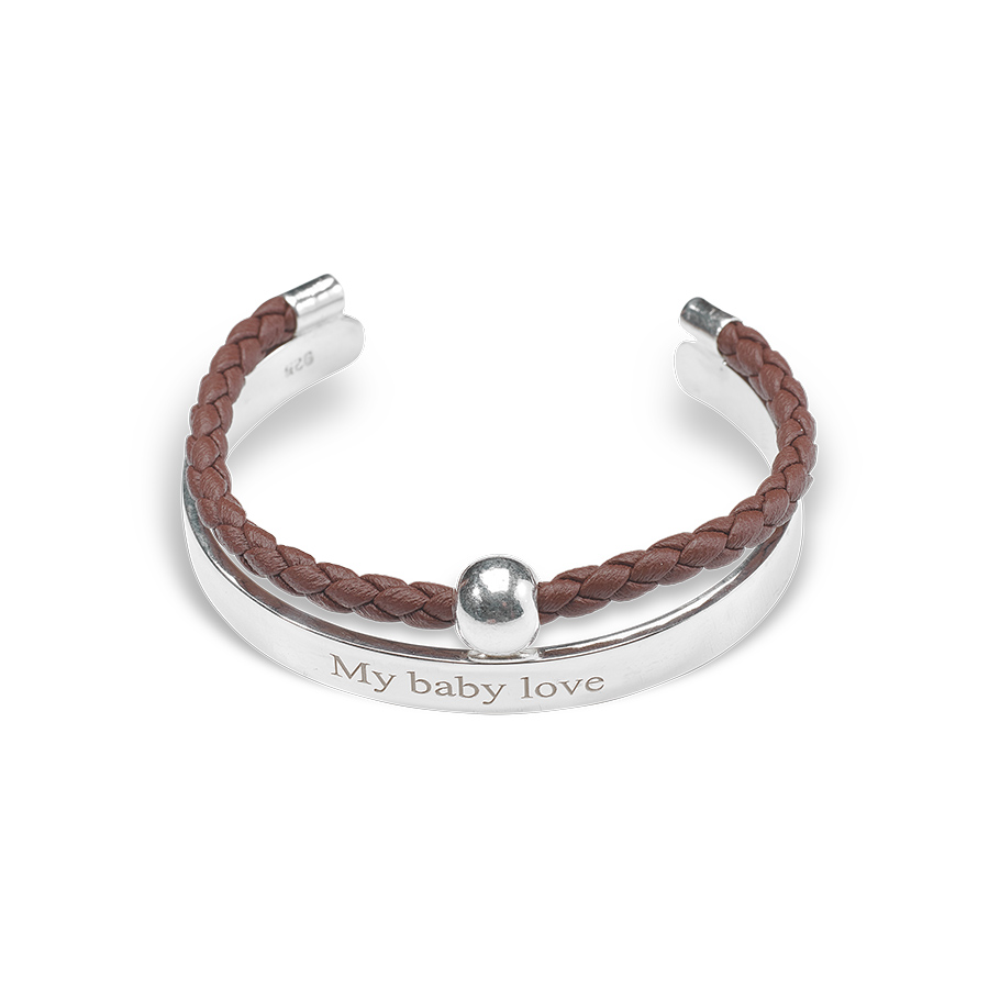 Bracelet jonc enfant my baby love