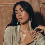 perle de jade bijoux - boucles d'oreilles chains créoles et chaines argent 925