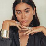 perle de jade bijoux - boucles d'oreilles perla en argent 925 et perles de culture noires