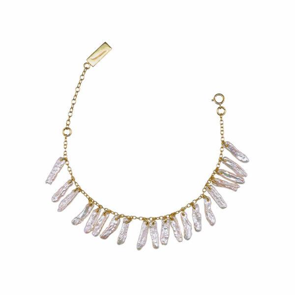 bracelet atlantis vermeil plaqué or