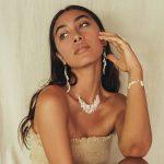 perle de jade bijoux - collier atlantis vermeil 18 ct et nacres blanches naturelles