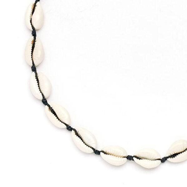 collier-coquillage-cordon-noir-perle-de-jade