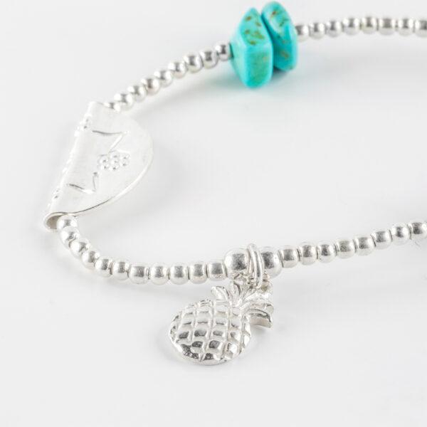 bracelet-elastique-argent-turquoise
