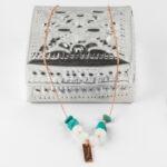 Boite à bijoux en métal