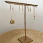 Présentoir bijoux boucles d'oreilles Perle de Jade