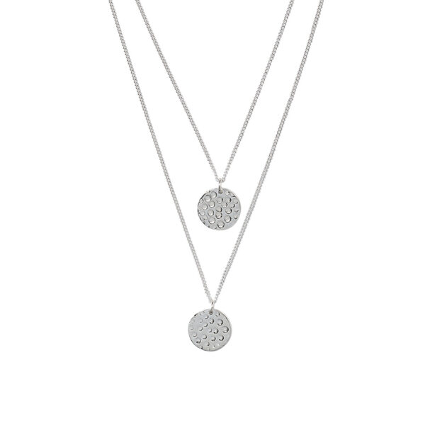 collier pendentifs roma argent