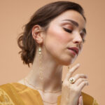 Boucles d'oreilles Artémis en vermeil plaqué or 18 carats et perle de culture