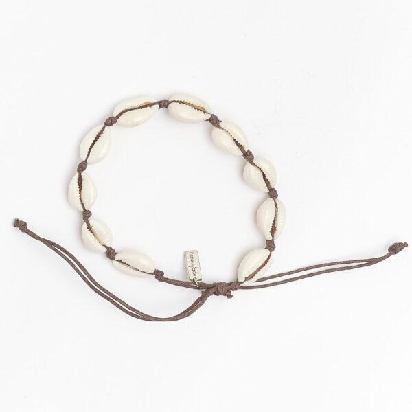 bracelet-coquillage-marron-perle-de-jade