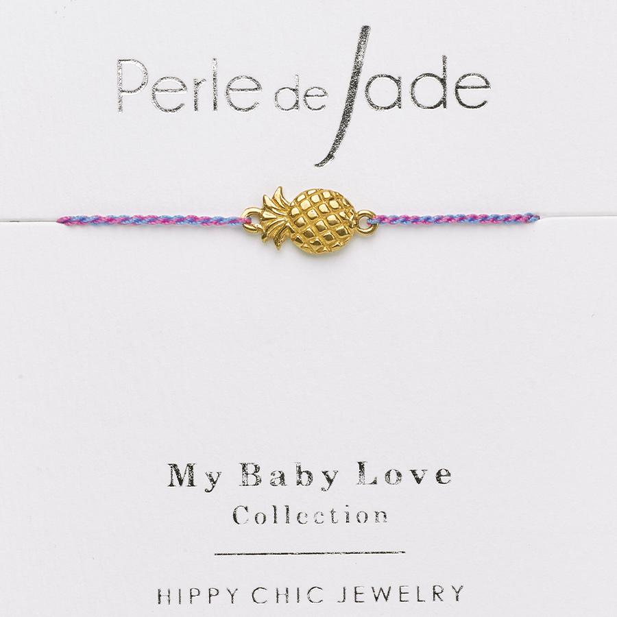 bracelet-enfant-fil-violet-annanas-plaque-or-perle-de-jade