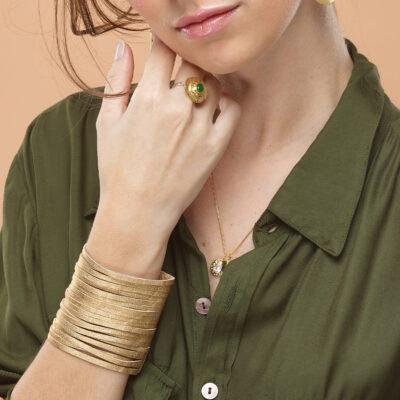 bracelet-manchette-rock-cuir-perle-de-jade