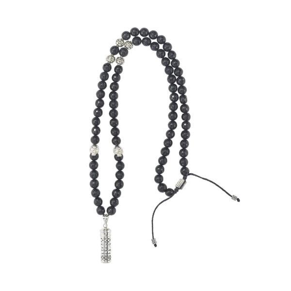collier bouddhiste perle de jade