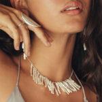 collier atlantis argent 925 nacres blanches naturelles