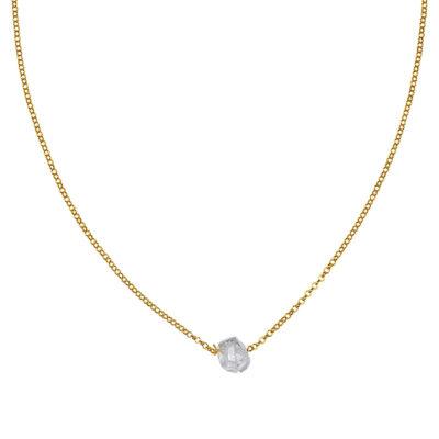 collier shooting stars vermeil perle de jade retouche