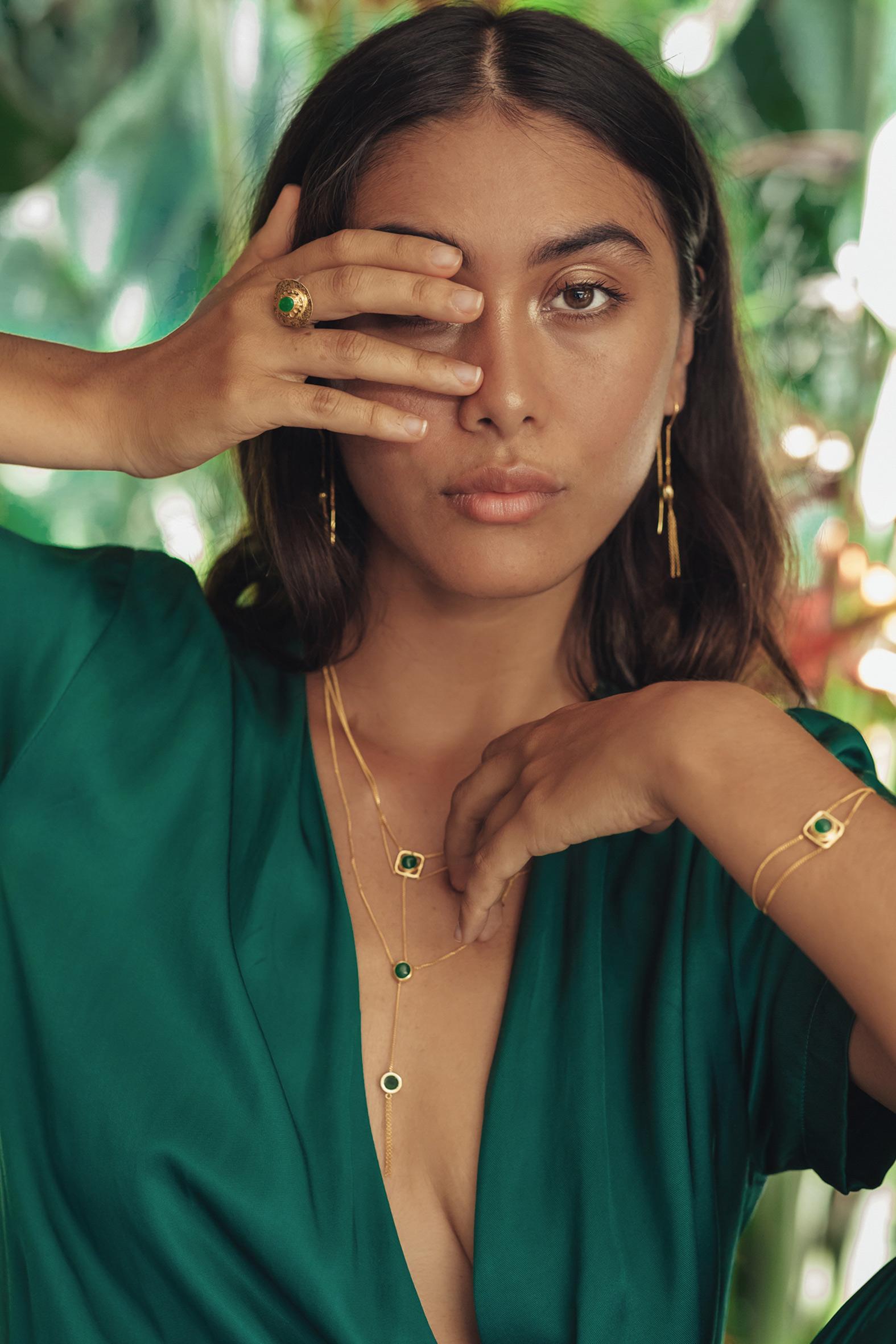 collection vermeil et pierre de jade perle de jade