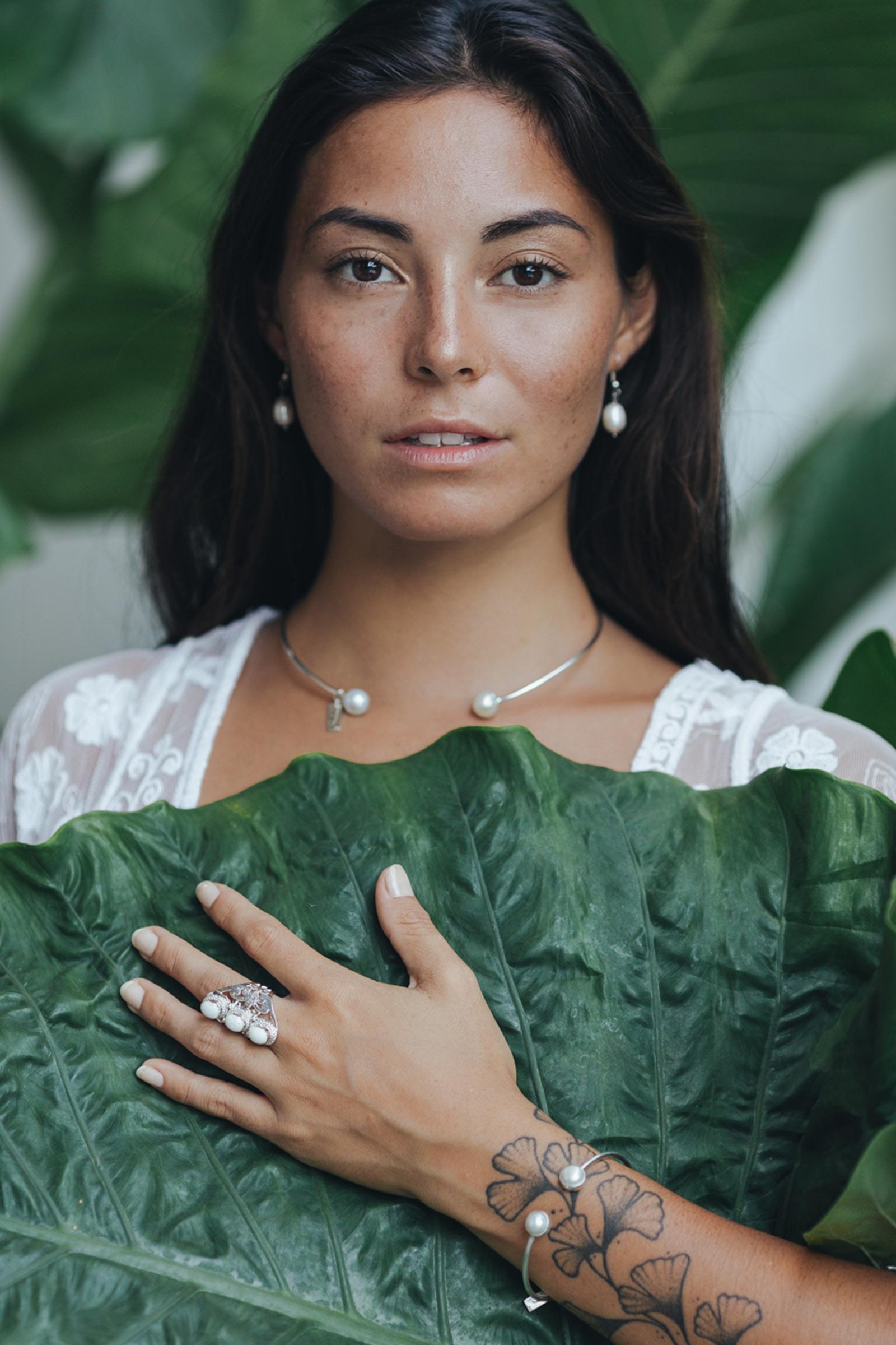 collection coquillage femme perle de jade